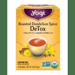 Yogi Teas Roasted Dandelion Spice Detox