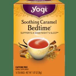 Yogi Teas Soothing Caramel Bedtime 16 bags Y20353