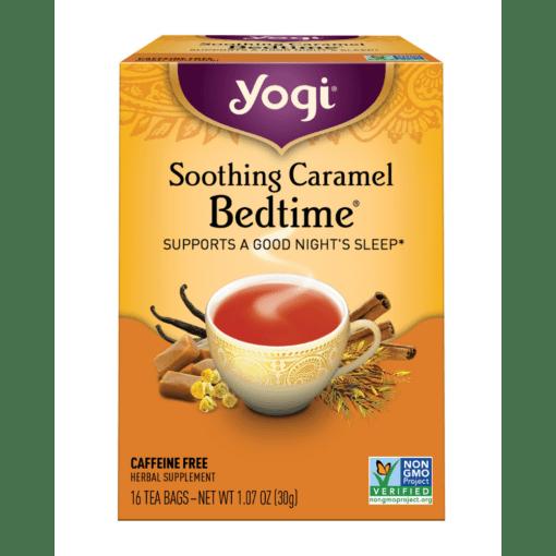 Yogi Teas Soothing Caramel Bedtime