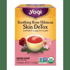 Yogi Teas Soothing Rose Hibiscus Skin Detox