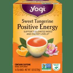 Yogi Teas Sweet Tangerine Positive Energy 16 bags Y20455