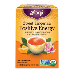 Yogi Teas Sweet Tangerine Positive Energy