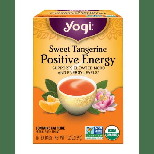 Yogi Teas Sweet Tangerine Positive Energy