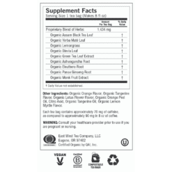 Yogi Teas Sweet Tangerine Positive Energy Label