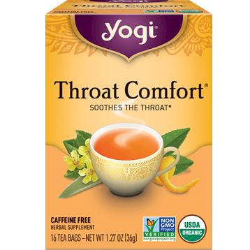 Yogi Teas Throat Comfort 16 bags Y45018