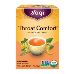 Yogi Teas Throat Comfort