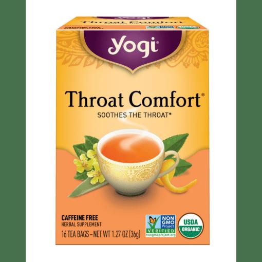 Yogi Teas Throat Comfort