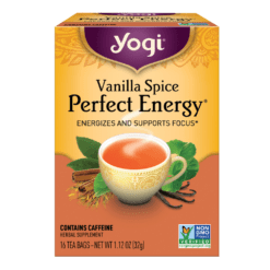 Yogi Teas Vanilla Spice Perfect Energy