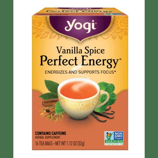 Yogi Teas Vanilla Spice Perfect Energy
