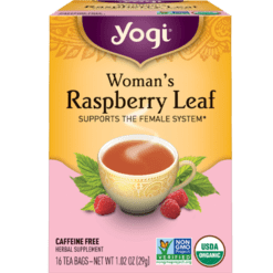 Yogi Teas Womans Raspberry Leaf 16 bags Y45043