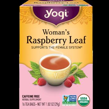 Yogi Teas Womans Raspberry Leaf 16 bags Y45043