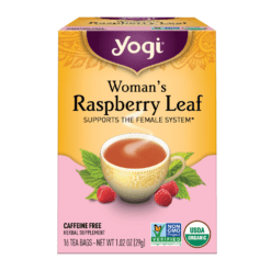Yogi Teas Womans Raspberry Leaf