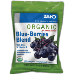 Zand Herbal Blueberries Herbalozenge 12 bags Z0028