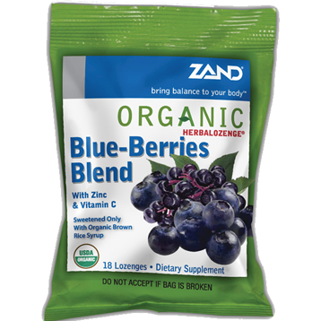 Zand Herbal Blueberries Herbalozenge 12 bags Z0028