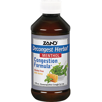 Zand Herbal Decongest Herbal Cough Syrup 8 fl oz Z71469