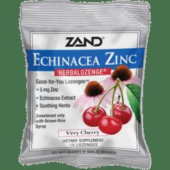 Zand Herbal Echinacea Zinc Herbalozenge Cherry 12 bags Z0024