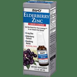 Zand Herbal Elderberry Zinc Liquid Lozenge 1 fl oz Z33247