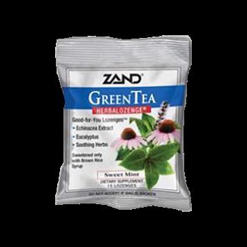Zand Herbal GreenTea Herbalozenge 15 x 12 bags Z0026