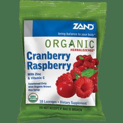 Zand Herbal Herbalozenge Cranberry Raspberry 18 lozenges Z00296