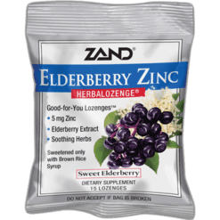 Zand Herbal Lemon Honey Soother Herbalozenge 12 bags Z0025