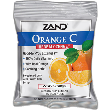 Zand Herbal Orange C Herbalozenge® 15 lozenges Z0022