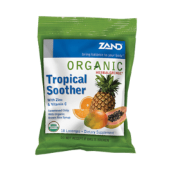 Zand Herbal Organic Herbalozenge Tropical 18 lozenges Z00067