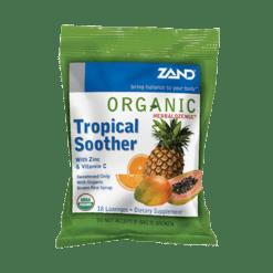 Zand Herbal Organic Herbalozenge Tropical 18 lozenges Z00067